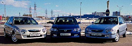 Обзор автомобиля Mazda 323, 2001 год