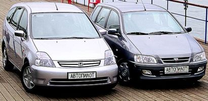 Дюймовые споры (Mitsubishi Space Star, Honda Stream, 2001 год)
