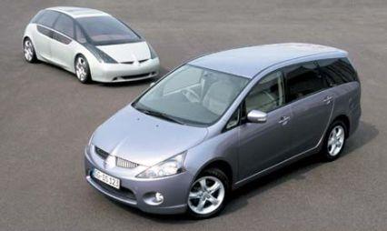 Вэн во время перемен (Mitsubishi Grandis, 2004 год)