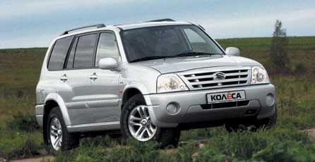 Широко открытые глаза (Suzuki Grand Vitara XL-7 LTD, 2003 год)