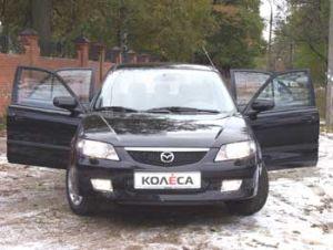 Путем эволюции (Mazda 323 Exclusive, 2002 год)