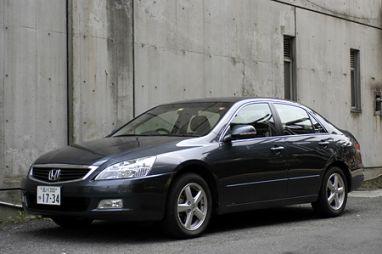Обзор автомобиля Honda Inspire 30TL, 2003 год