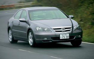 Honda Legend против Nissan Fuga, Toyota Crown Athlete, BMW 5-series, 2004 год