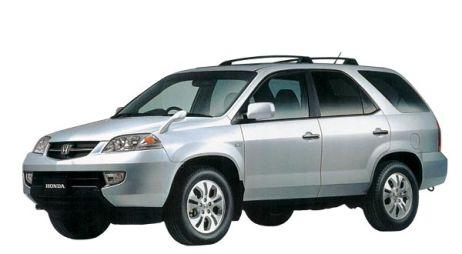 Сравнение Honda MDX и Toyota Land Cruiser Prado, 2003 год