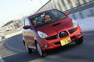«Революционные» формы приходятся кстати - обзор а/м Subaru R1S, 2005