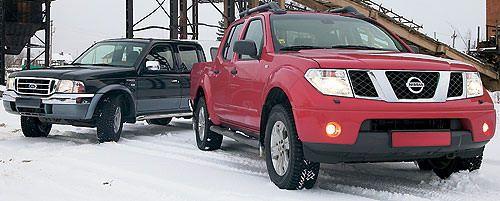 Парный тест: Nissan Navara против Ford Ranger