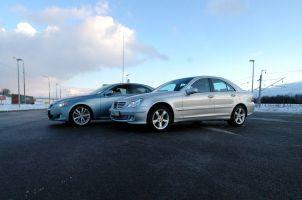 Сравнительный тест-драйв Lexus IS250 и Mercedes C280