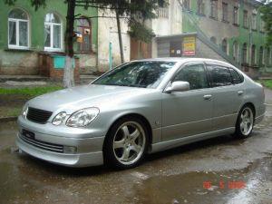 Сибирский тюнинг Toyota Aristo.