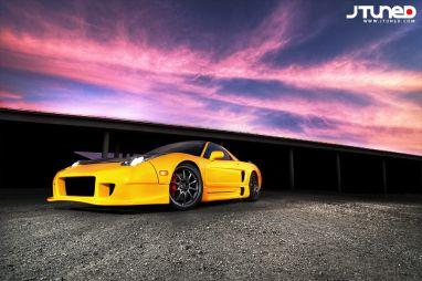 """""""Желтая молния"""". Acura NSX 1998 года от компании Drag Pro"""