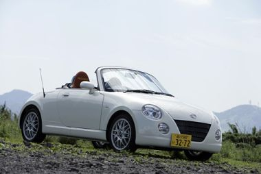 Обзор автомобиля Daihatsu Copen в комплектации Ultimate Edition, 2006