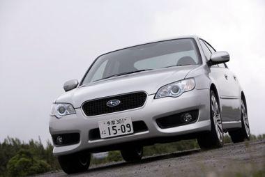 Обзор Subaru Legacy B4 3.0R Spec. B после малой модернизации, 2006