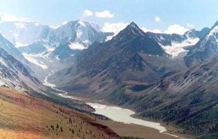 Экстремальное путешествие в Горный Алтай на Mazda Proceed Levante. Июль 2006 года.