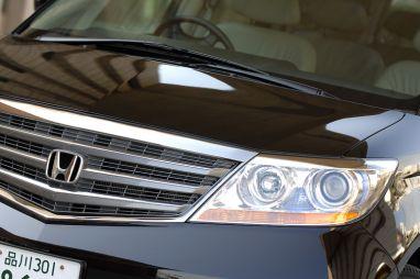 Обзор автомобиля Honda Elysion, 2007