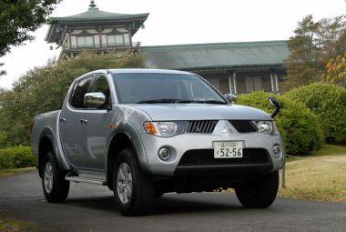 Обзор пикапа Mitsubishi Triton 2006