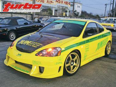 Желтая лихорадка - Honda Integra Type R DC5 от JUN Auto