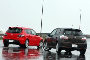 Toyota Blade Master G против Mazda Speed Axela (часть II)