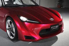 Заднеприводное купе Toyota FT-86 — концепт новой хачироку с оппозитным двигателем от Subaru