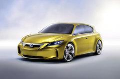Стильный хэтчбэк LF-Ch дополнит главную премьеру бренда Lexus
