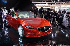 Mazda представила свой седан будущего — концепт Takeri