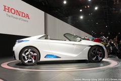 Honda привезла на шоу вереницу электро-концептов и пообещала построить настоящий спорт-кар