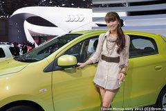 Компактный Mirage станет новой глобальной моделью бренда Mitsubishi