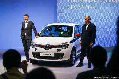 Представлен новый Renault Twingo: мотор сзади и RWD