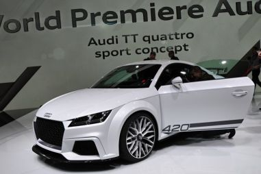 Audi ставит на спорт: новое купе TT, хэтчбек S1 и кабриолет S3