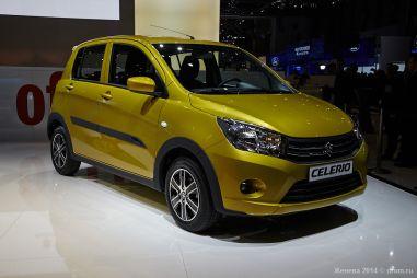 Новый стандарт А-класса от Suzuki: компактный хэтчбек Suzuki Celerio