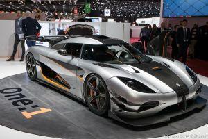Koenigsegg представил первый серийный мегакар One:1
