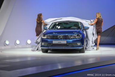 Volkswagen берет числом: в Москве представлены обновленные Touareg, Jetta и Scirocco
