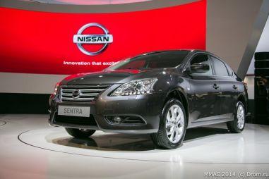 Новый седан Nissan для России получил название Sentra