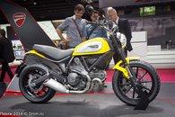 Ducati Scrambler на стенде Audi