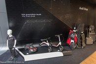 Стенд Audi на Парижском автосалоне 2014