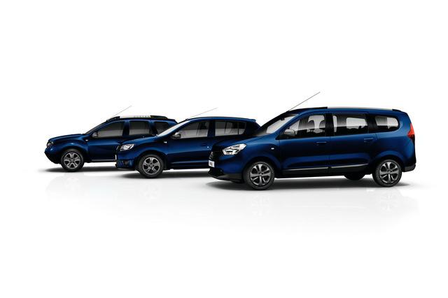 Юбилейные модели Dacia