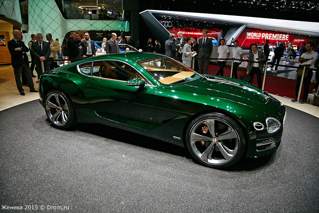 Bentley EXP 10