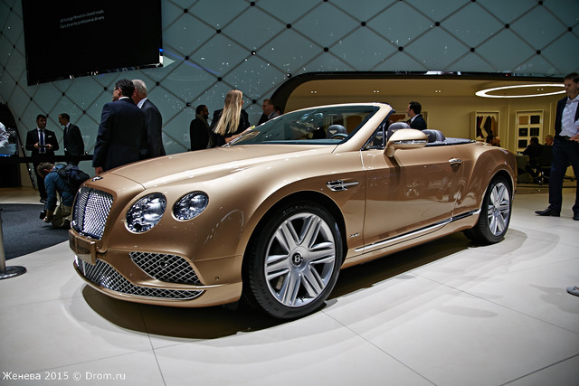Bentley GT Convertible New