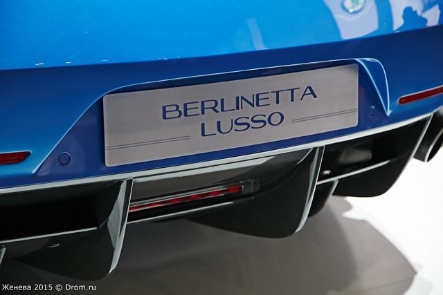 Superleggera Berlinetta Lusso