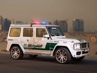 Brabus 700 Widestar Police предназначен не только для полицейских целей, но и для пропаганды ответственного и безопасного тюнинга автомобилей.
