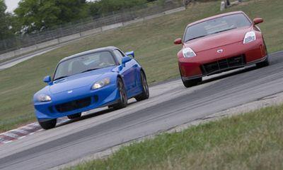 Сравнительный тест: Honda S2000 CR против Nissan 350Z Nismo
