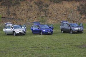 Американцы в России. Обзор автомобилей Acura MDX, Mazda CX-7 и Suzuki XL7