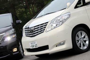 Обзор нового поколения минивэнов семейства Toyota Alphard / Vellfire
