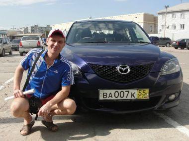 Из Омска в Челябинск на Mazda Axela