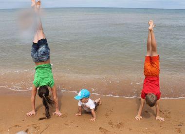Два моря для троих детей (Череповец—Кучугуры—Дивноморское на Nissan Qashqai+2)