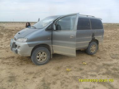 Путешествие из Москвы в Туркменистан на Hyundai Starex