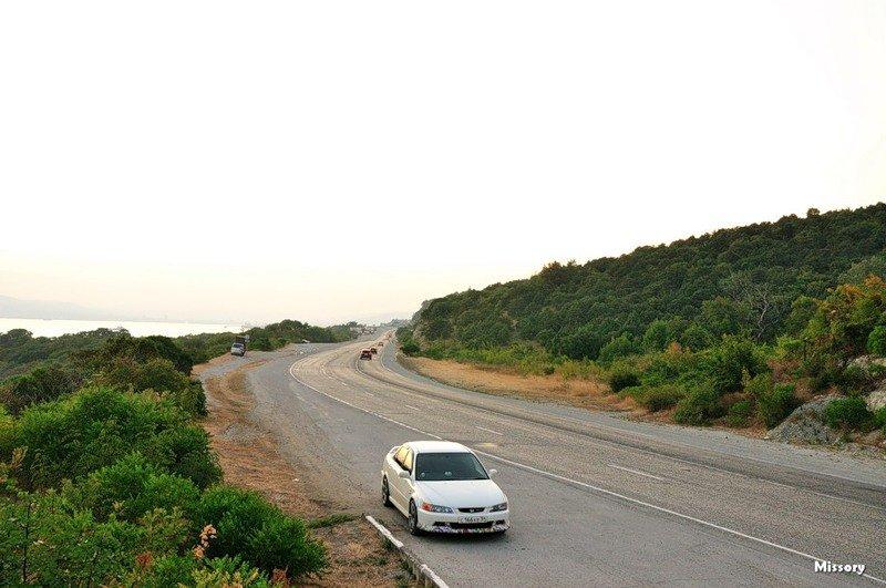 Дорога в геленджик на машине фото