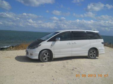 На Toyota Estima к Черному морю