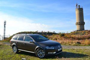Поездка на Черное море в Большой Утриш на автомобиле Passat Alltrack