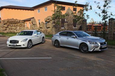 Сравнительный тест Infiniti M37x и Lexus GS350 AWD. Дотянуться до звезд