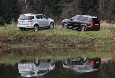 Сравнительный тест Chevrolet Trailblazer и SsangYong Rexton. И снова рамы
