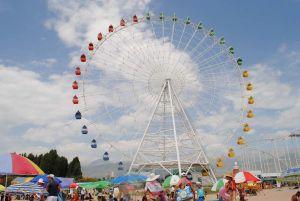 Солнечное путешествие в Киргизию на Suzuki Grand Vitara в июле 2013